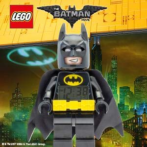 """Lego Batman Movie 9009327 Batman Kids Minifigure Alarm Clock 