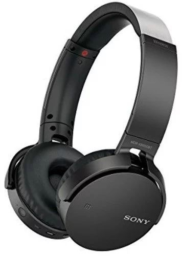 Sony MDRXB650BT/B Extra Bass Over-Ear Bluetooth Headphones, Black