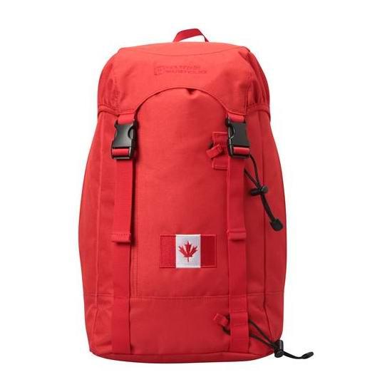 白菜价!Mountain Warehouse High 20L 加拿大国旗印花 登山包2.5折 15.29加元包邮!2色可选!