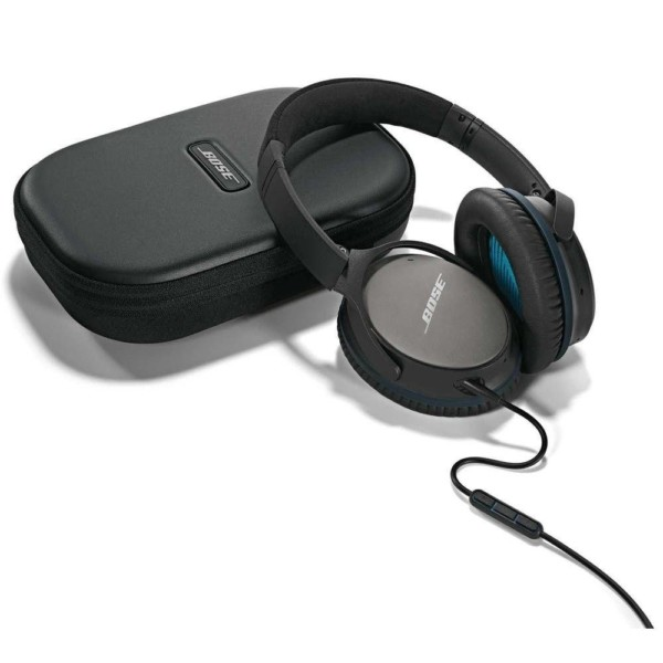 Image result for Bose QuietComfort 25 Acoustic Noise Cancelling Headphones — Samsung and Android Devices (Black)