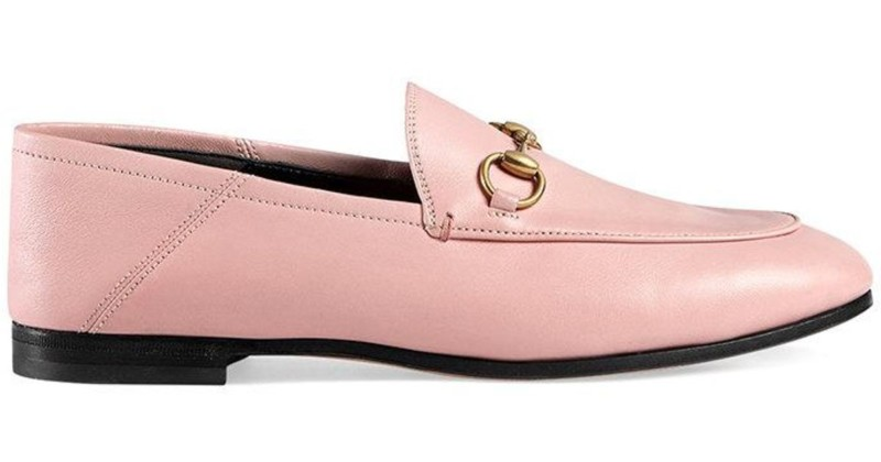 Image result for Gucci Pink Crushback Brixton Loafers
