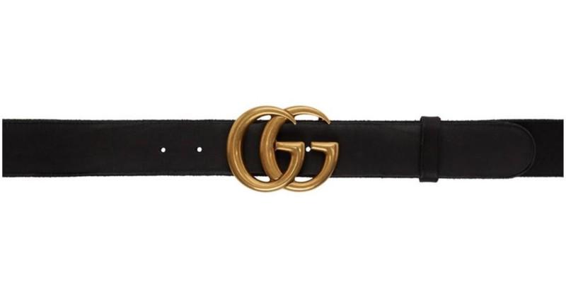 Image result for Gucci Black GG Belt