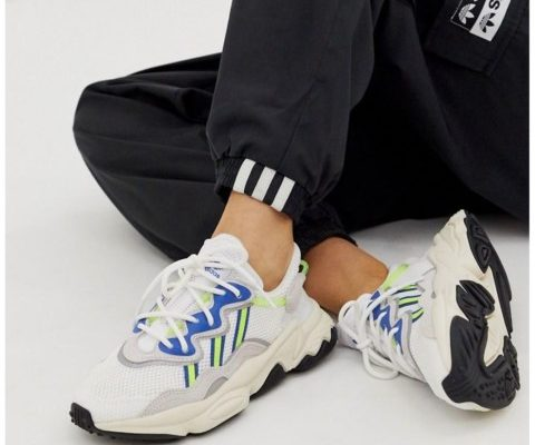 Image result for adidas Originals White Ozweego Sneakers