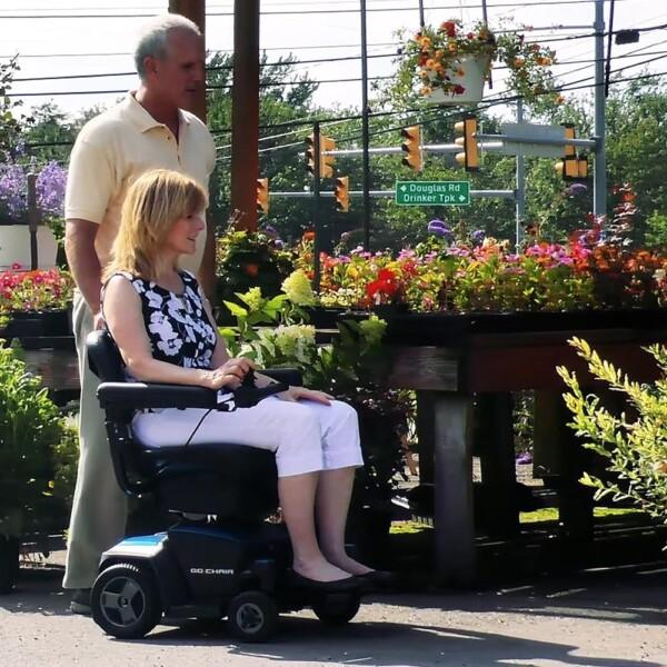 Pride Go Chair Portable Power Chair – Glebe Healthcare
