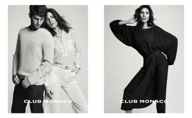 MANAGEMENT+ARTISTS - News - Aleksandra Woroniecka styles the new Club  Monaco Campaign, Spring/Summer 2015