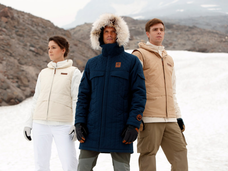 These limited-edition Columbia Sportswear coats are inspired by 'The Empire Strikes Back' - Business Insider