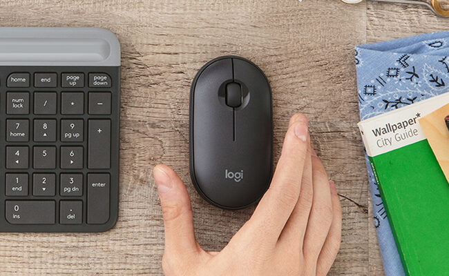 Logitech Pebble M350: Logitech Pebble M350 review: Easy to use wireless  mouse via Bluetooth, USB connection - The Economic Times